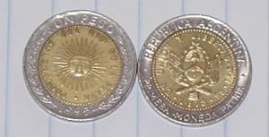 Argentina Peso Coin